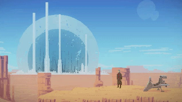 Sci-Fi Indie Platformer Wants To Be The Next Flashback