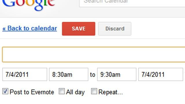 Eventnote for Chrome Adds Google Calendar Events to Evernote