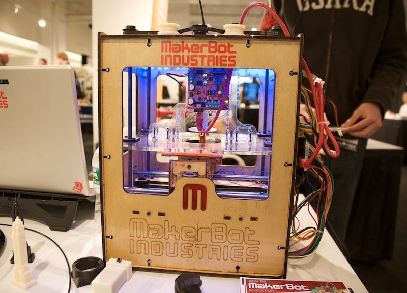 MakerBot Cupcake CNC Delivers DIY 3D Printing for Just $750