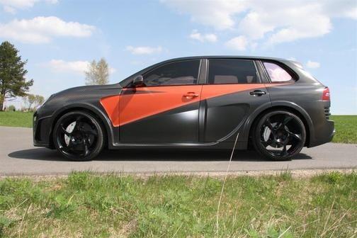 Mansory Chopster: Carbon Fiber Cayenne Crazy-Time