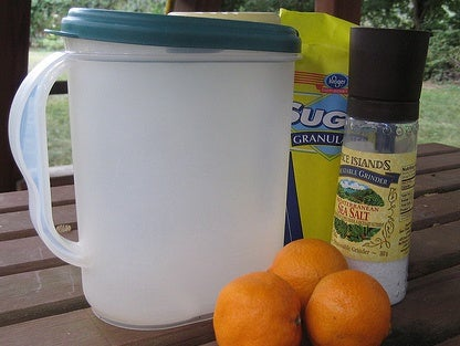 Make Your Own Sports Drink on the Cheap