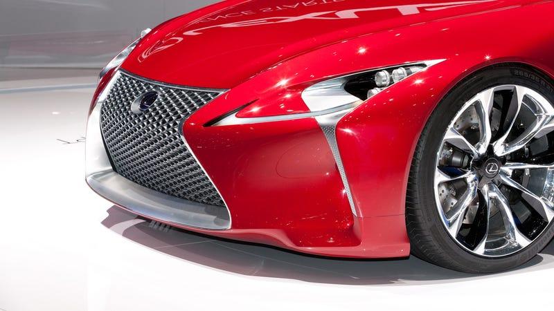 Lexus LF-Lc Live Gallery