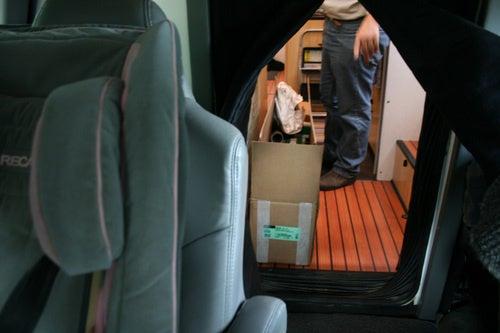 EcoRoamer Expedition Vehicle: Cab Photos