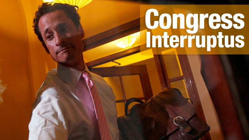 Anthony Weiner Is Stepping Down