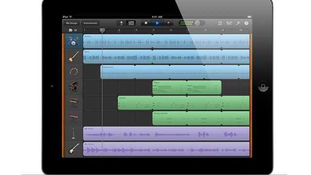 Garage Band for iPad Puts a Recording Studio on Your Lap