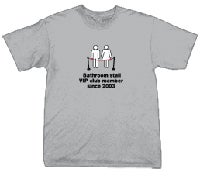 Buy A Bathroom T-Shirt (Cheerleaders Sold Separately)