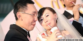 Hong Kong McDonald's To Offer Nuptial Packages