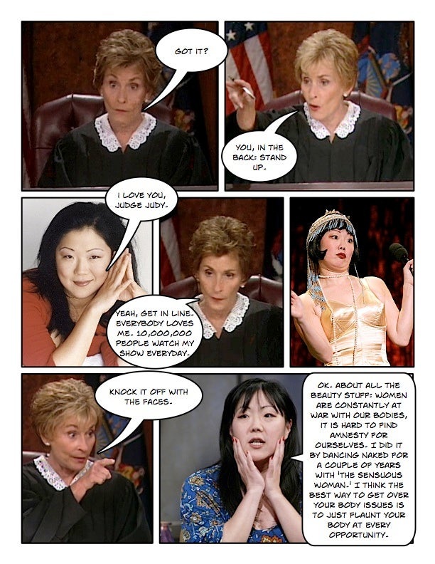 Comic Confrontations: Judge Judy Vs. Feminists, Part 2