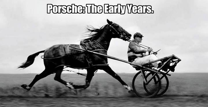 The absolute earliest Porsche...
