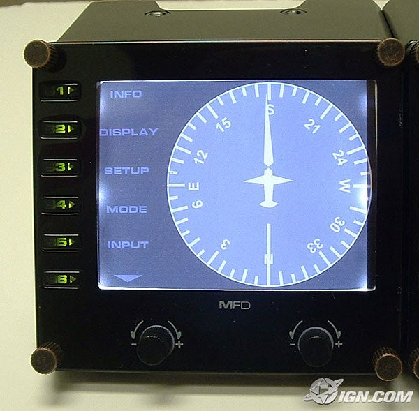 Saitek Shows Awesome LCD Displays for Realistic Flight Sim Instrumentation