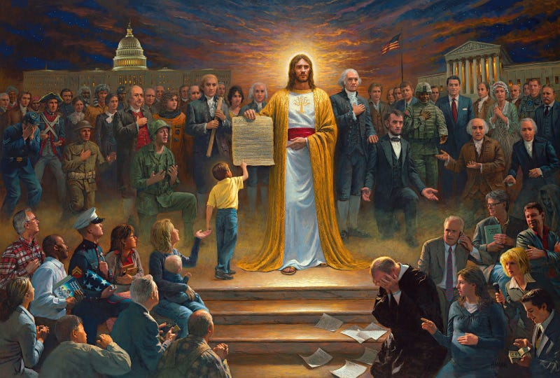 America's Greatest Jesus Painter Yanks Paintings from 'Liberal' BYU Bookstore