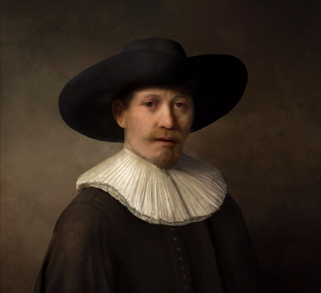 Coolest Art Nerds Ever Taught a Computer to Create a Rembrandt