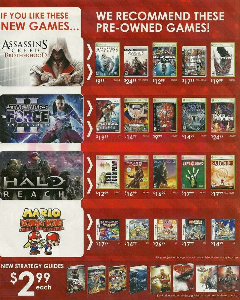 gamestop visual