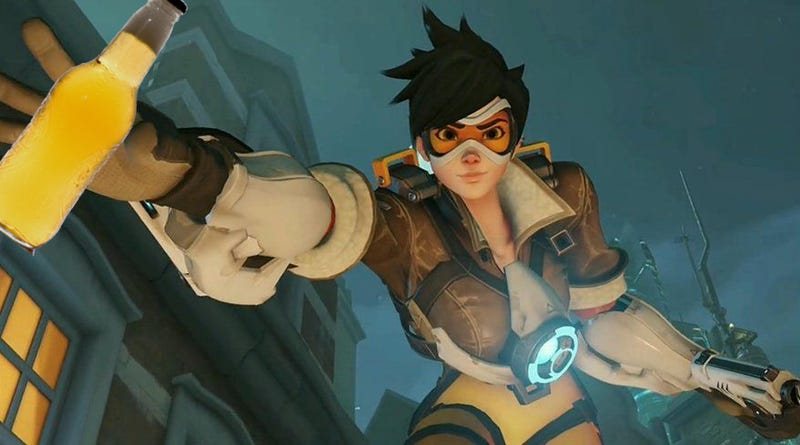 The Sound Of A Hit In Overwatch Is Made By... Beer