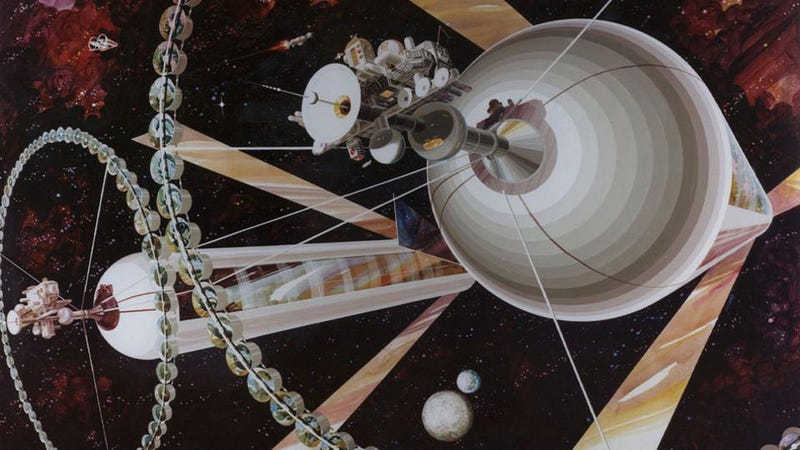British Think Tank Revives 40-year-old Plan to Build Space Colonies