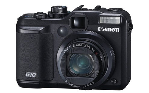 Canon PowerShot G10 14.7MP Flagship Camera Goes Wide-Angle