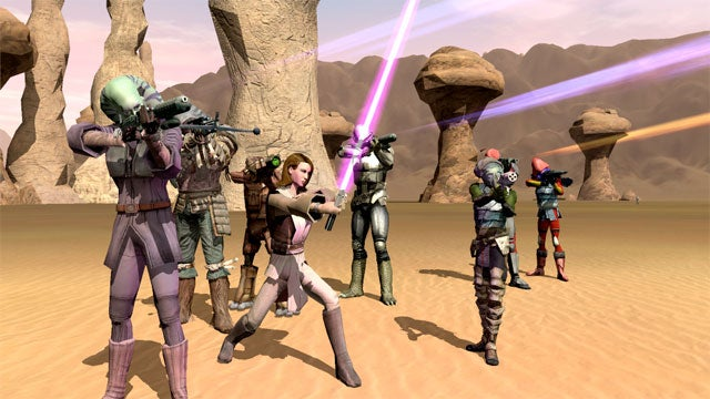 Star Wars Galaxies Is Dead, Long Live The Old Republic