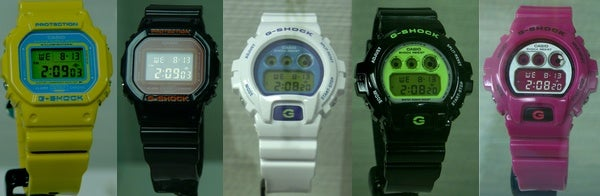 Casio G-Shocks Updated In Crazy Colors