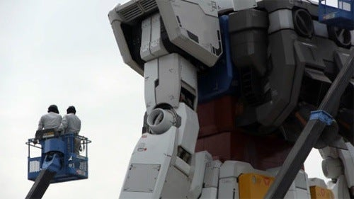 Giant Gundam Nearly Completed