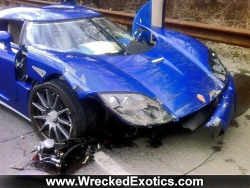 Dealer Wrecks Customer's Koenigsegg CCX