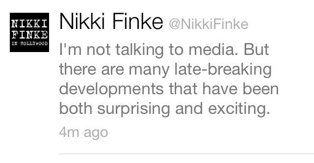 Any bets on whether Nikki Finke will sign with Gawker Media?