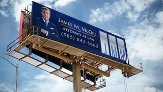 Real <em>Better Call Saul</em> Billboard Appears in Albu