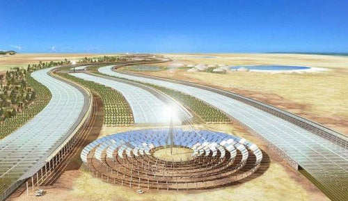 African solar farms will power all of Europe by 2050