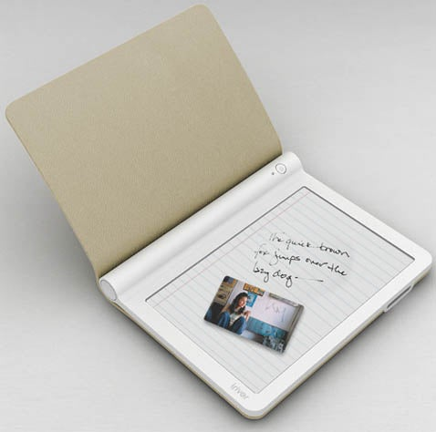 iriver Ebook Concept Takes Notes, Looks Suave