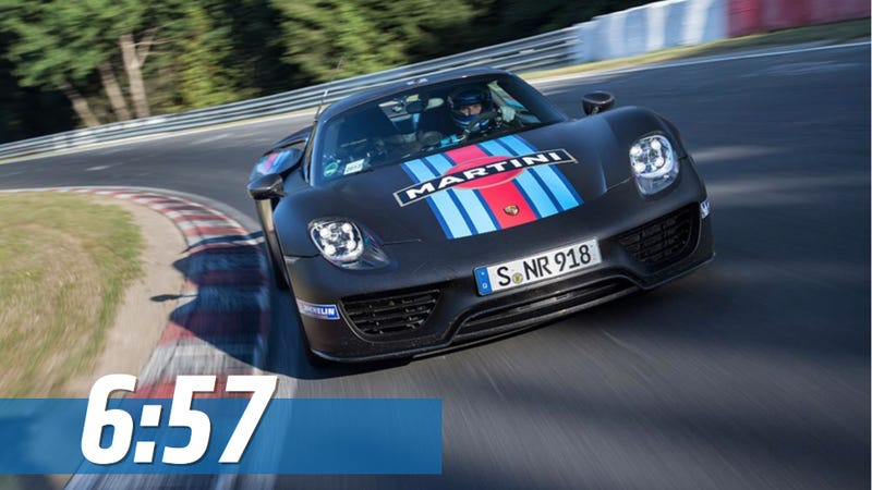 The Porsche 918 Spyder Is The Fastest Production Car To Lap The 'Ring