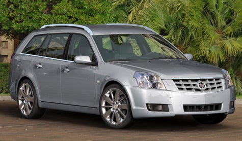 Another Half-Cadillac Comes to Europe: The BLS Wagon