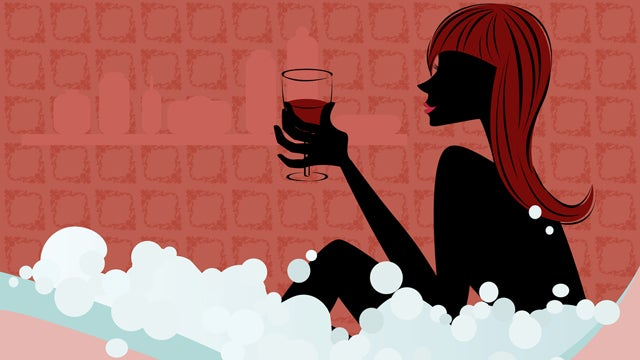 Today In Awesome Health News: Have A Glass Of Wine & A Hot Bath To Prevent A Cold