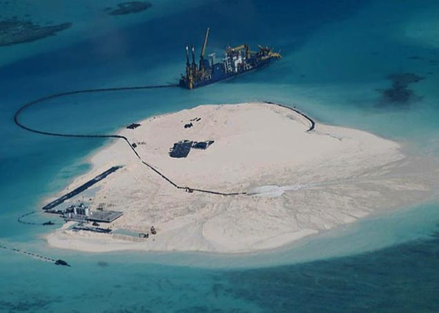 China Is Mass-Producing Islands To Extend Its Strategic Borders