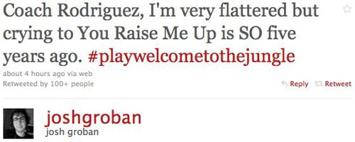 Josh Groban is Funny