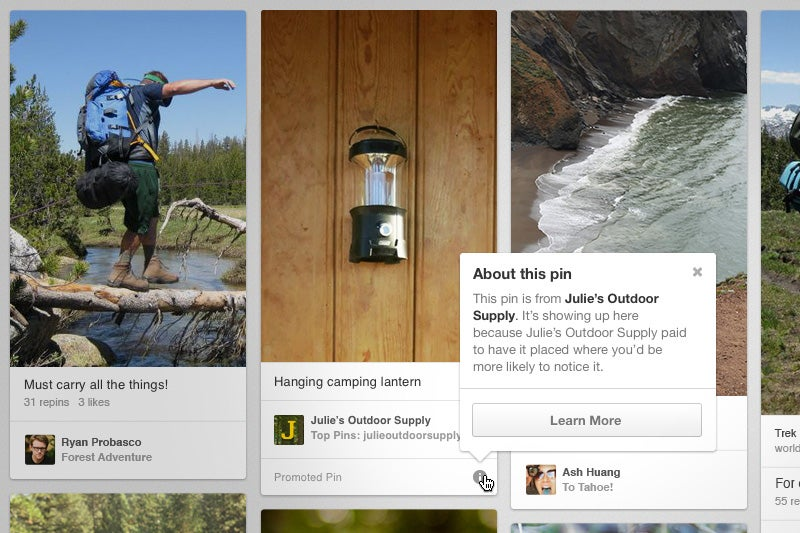 Pinterest Is Now Ready To Sell You Things