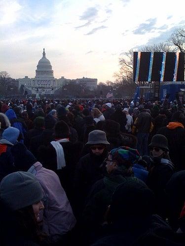 Inauguration Morning