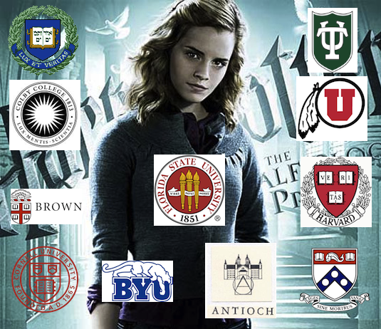 Of Harvard and Hogwarts: Ivy League Schools Using Harry Potter to Whore Themselves Out