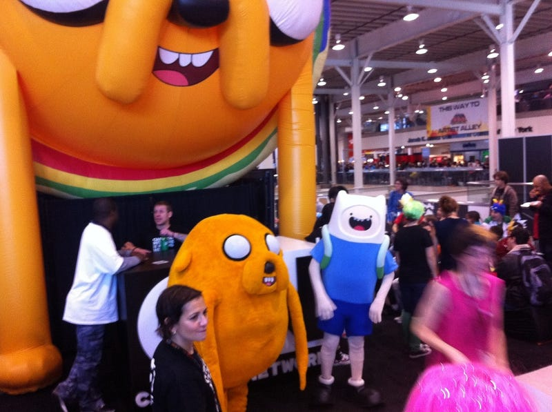 New York Comic-Con Day Five Delivers Adventure Time, Silent Hill and Cosplay With A Side of Bacon?