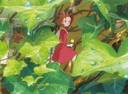 Get a little peek at Hayao Miyazaki's next movie, The Borrowers Arrietty