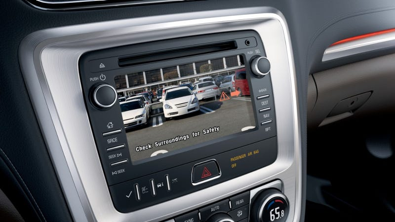 Feds Require Cars Have Rear Cameras After 2018 Because We Can't Back Up