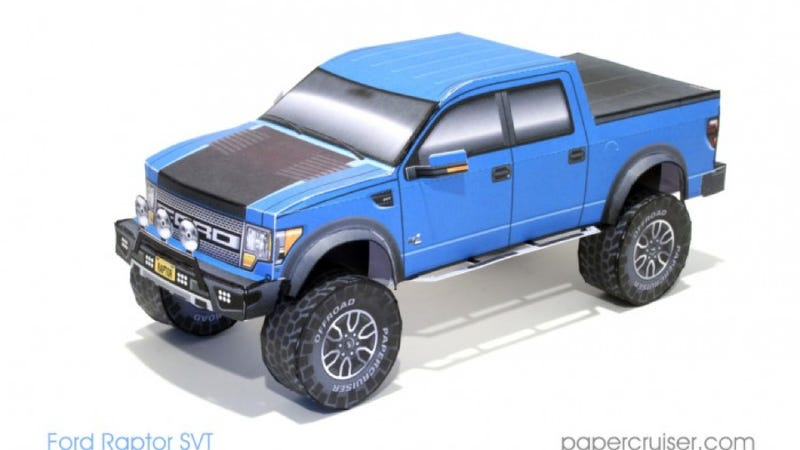 These Paper Truck Models Are The Perfect Gift For The Off-Roader In Your Life