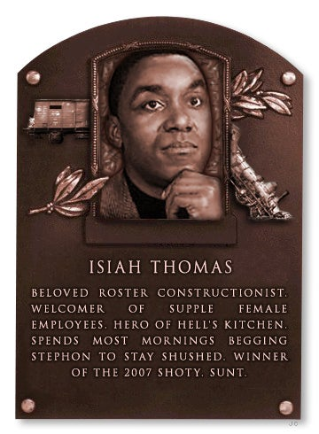 Deadspin Hall Of Fame Inductee: Isiah Thomas