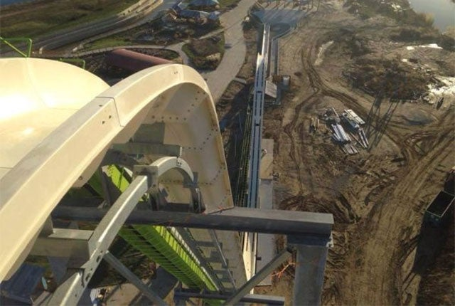 World's Tallest Waterslide Delayed After Testers Go Airborne
