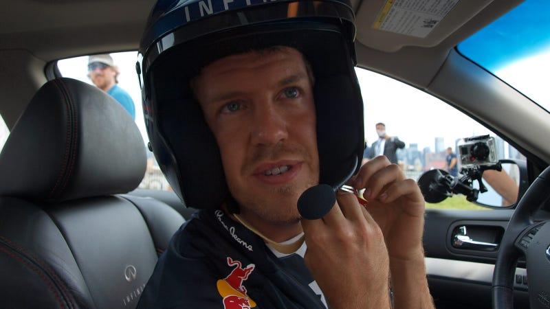 Sebastian Vettel Drive Gallery