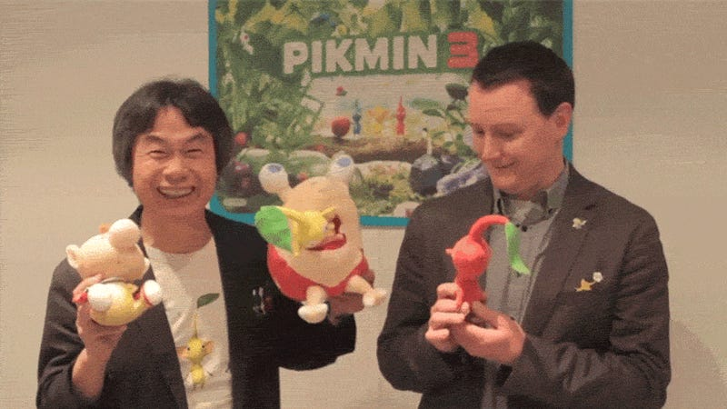 Shigeru Miyamoto Says 'Don't Attack My Eyes!'