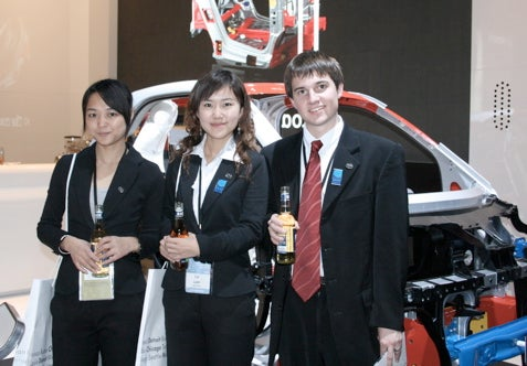 Detroit Auto Show: BYD's Young Exec Can Get Girls