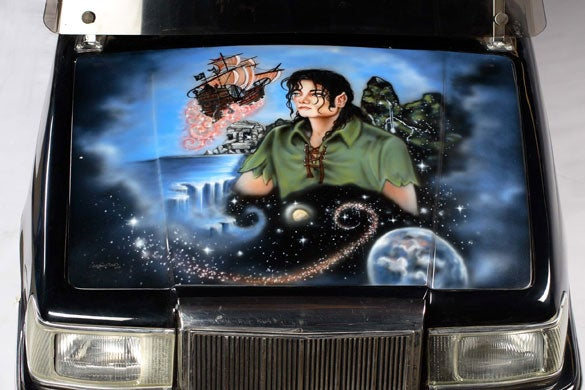 Michael Jackson Auction Update: Need Some Scissorhands or a Peter Pan Golf Cart?