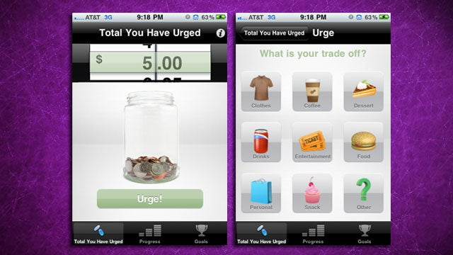 Urge for iPhone Helps You Resist Small Purchases and Move Them to Savings Instead