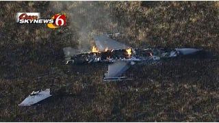Two Air National Guard F-16s Collide Over Kansas