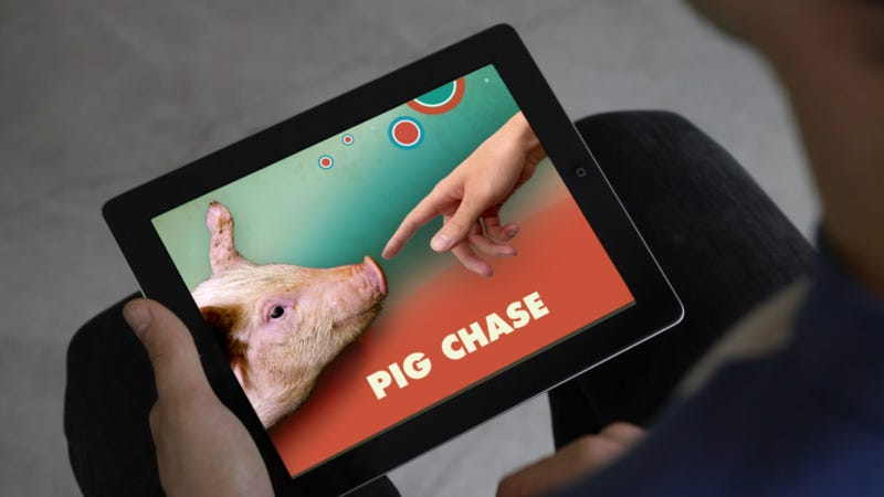 A Video Game That Helps People Forge Stronger Relationships...With Pigs