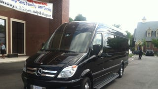 New limo today